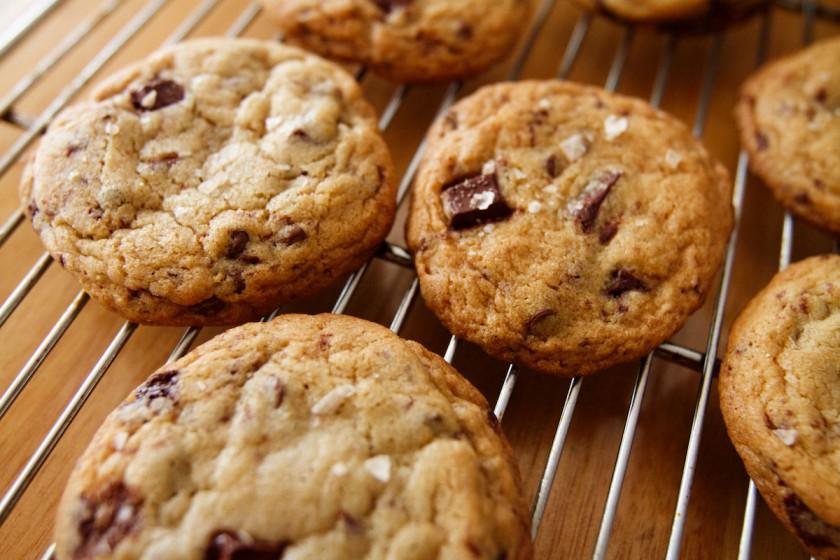 Maldon Salt Chocolate Chip Cookies