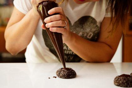 Chocolate Espresso Thumbprints