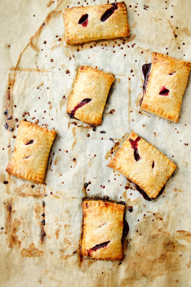Blackberry Basil Hand Pies