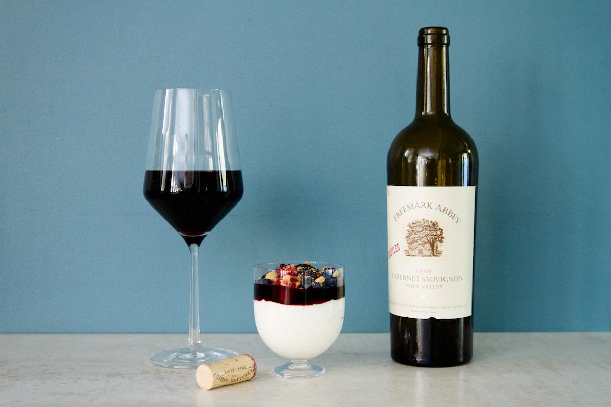 Vin Berries & Cream