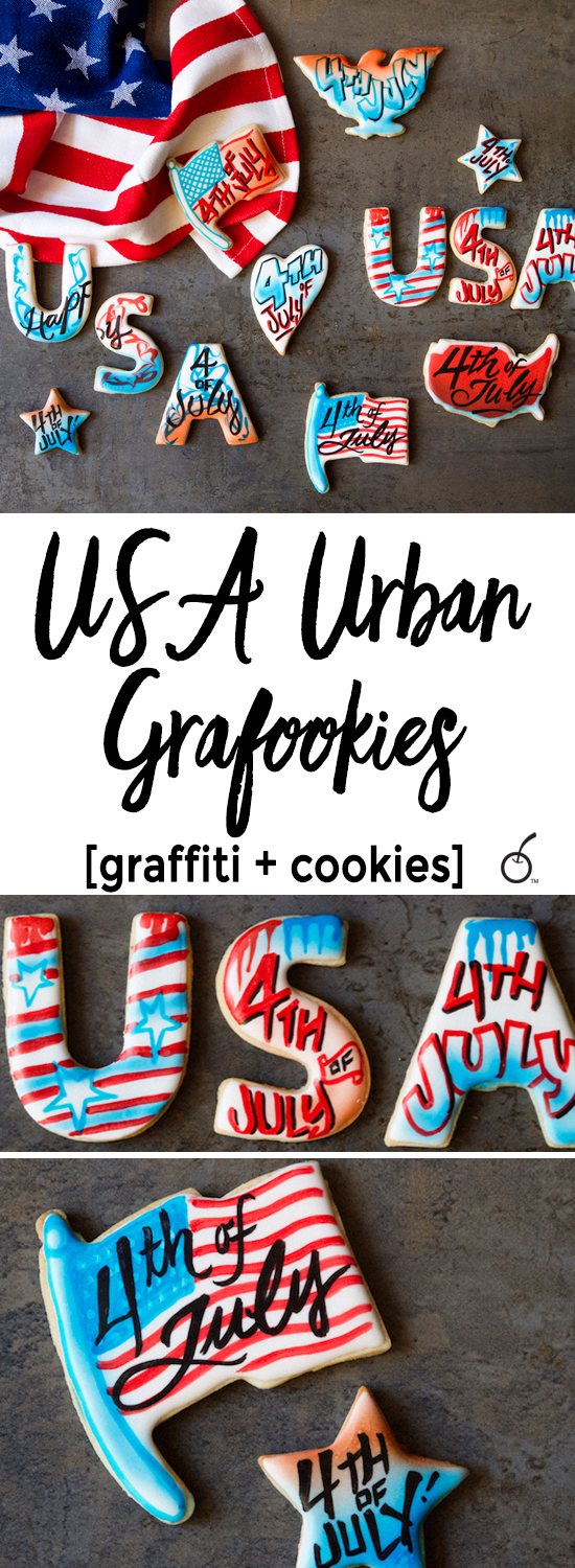 Fourth of July Eye Candy, USA Grafookies