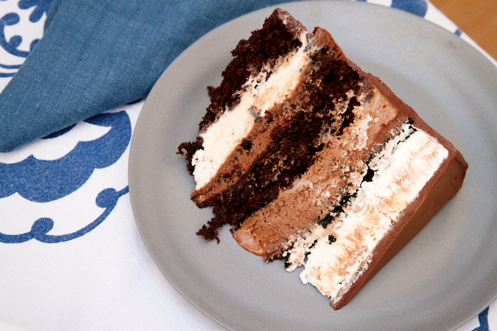 Chocolate Fudge Ice Cream Cake