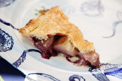 Nectarine Blueberry Pies