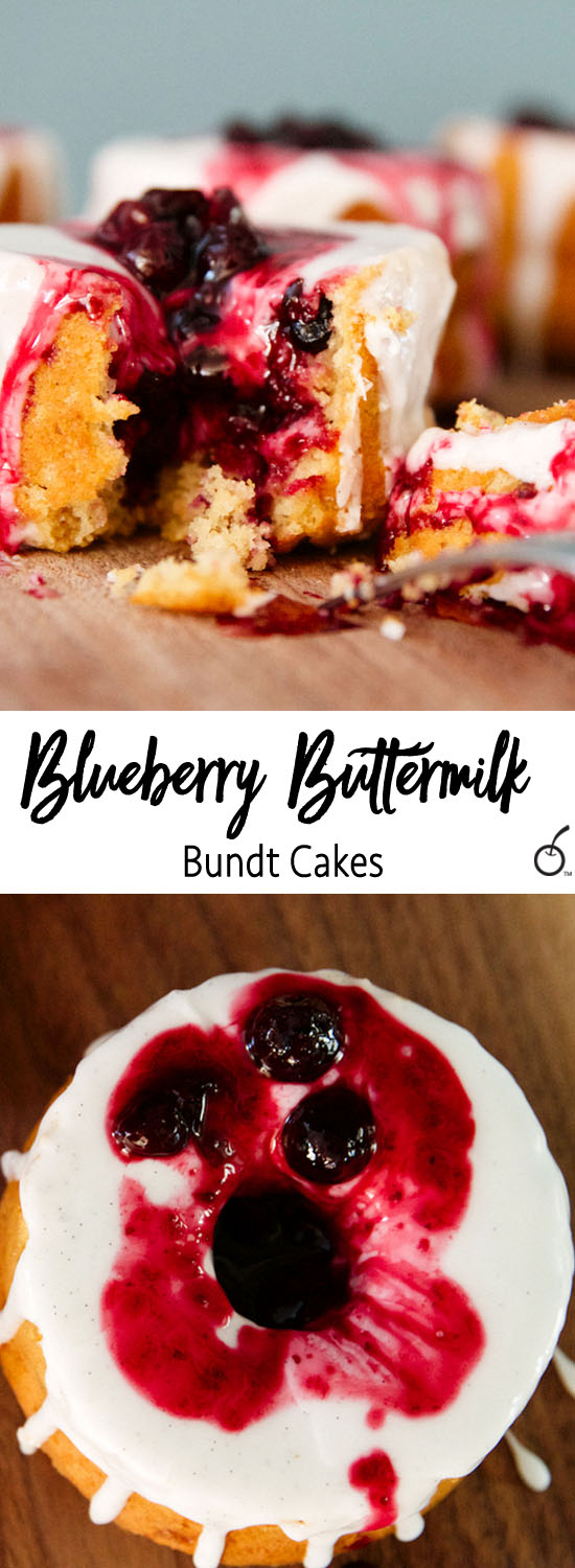 Blueberry Bundt Cakes