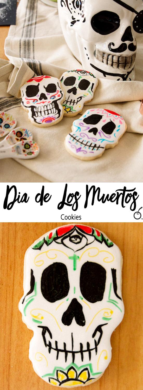 Día De Los Muertos Sugar Cookie Skulls