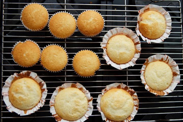 Easy Winter Wonderland Cupcakes