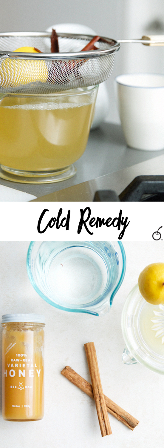 Lemon Tea Cold Remedy for Your Sick Sweetie