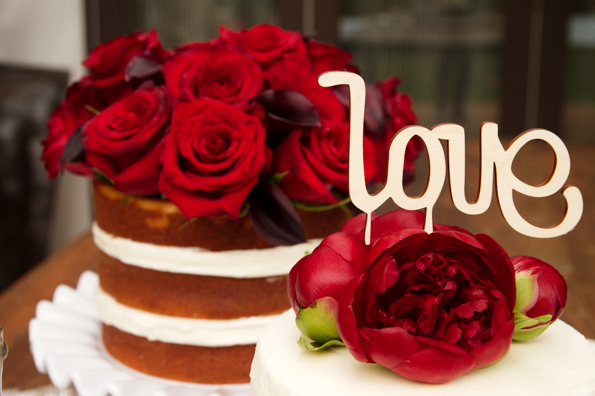 Bake a Naked Cake for Your Sweetie this Valentines Day