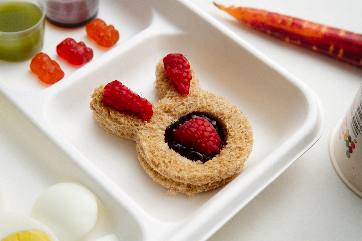 Easter Bunny Bento Breakfast