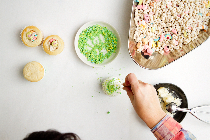 Surprise Inside Cupcakes
