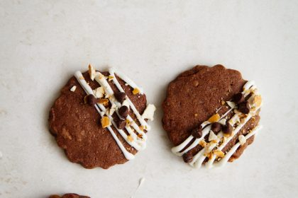 Salty-Sweet Chocolate Pretzel Shortbread