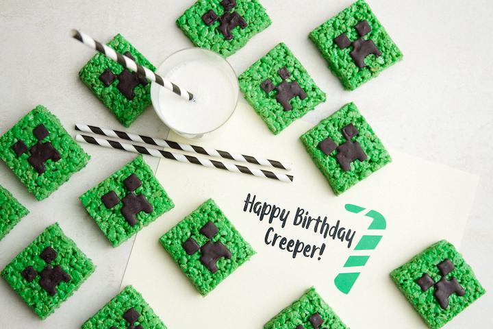 Rice Krispie Creepers