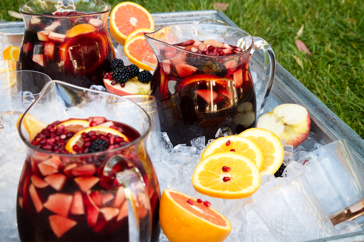 Four fruits one perfect sangria the sweet nerd recipe sangria five fruits thecheapjerseys Image collections