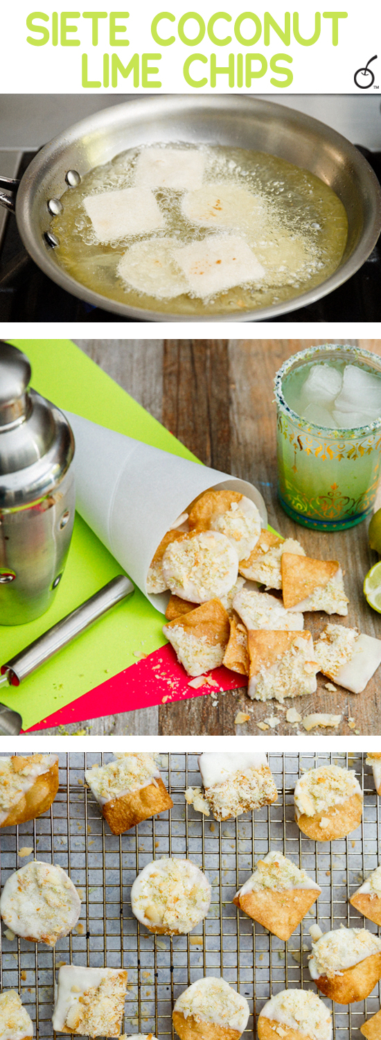 Coconut Lime Snackroos for Cinco de Mayo