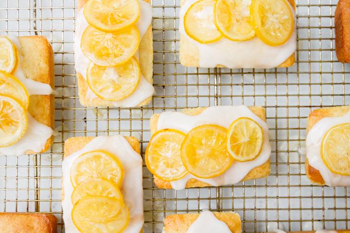 lemon cakelets