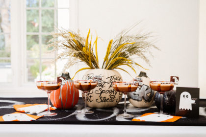 pumpkin decor for your halloween party