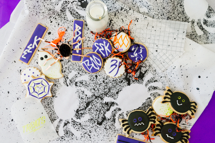 Halloween DIY spread