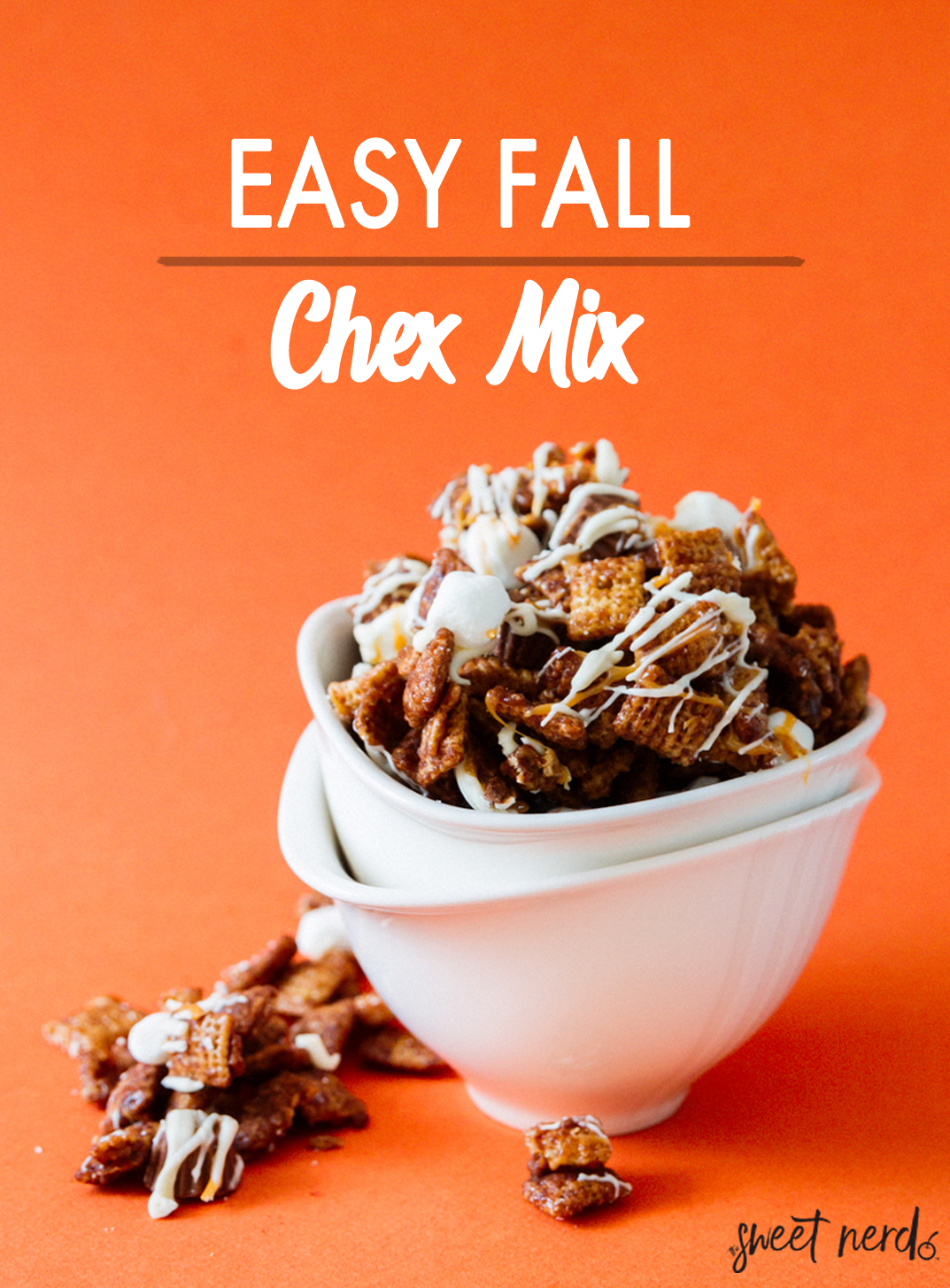 Easy Fall Chex Mix