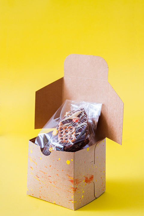 Thanksgiving Treats ~ Splatter Box