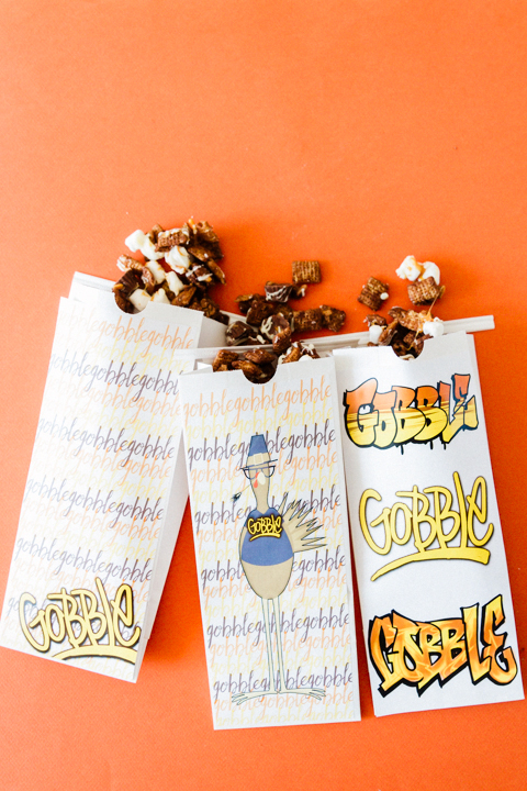 Thanksgiving Treats ~ Gobble Grab Bags