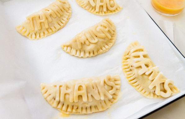 Hand Pies with Gratitude