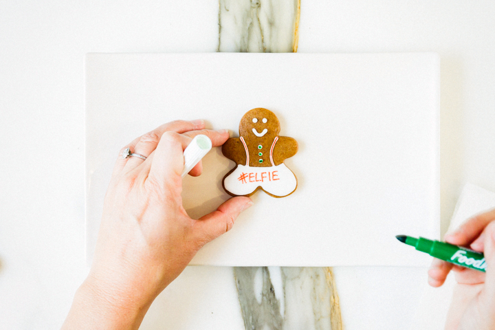 Elfie Gingerbread Cookie