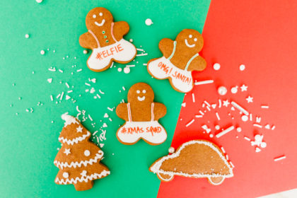 Holiday Gingerbread Cookie Gifts