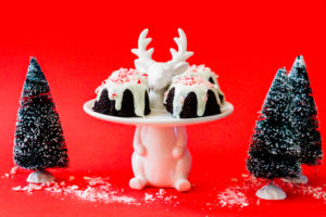 peppermint chocolate bundts