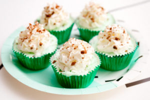 Mint Chip Ice Cream Cupcake