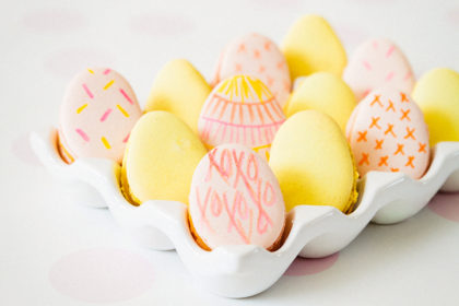 Macaron Eggs
