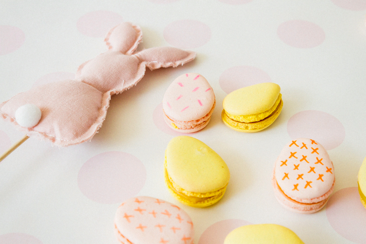 Macaron Egg Cookies for Easter