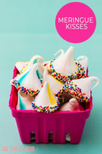 Meringue Kisses with a Surprise