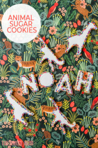Jungle Animal Sugar Cookies