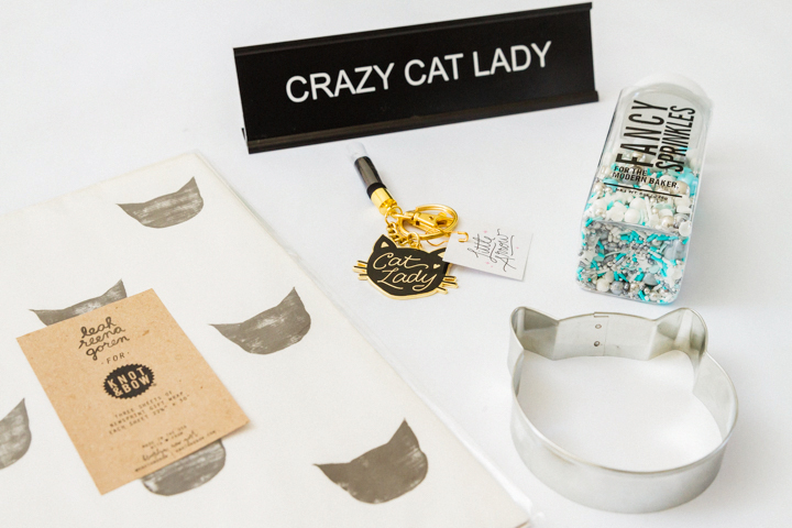 Fancy Sprinkles, Knot & Bow paper, and more kitty madness