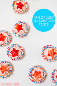 4th of July Strawberry Tarts