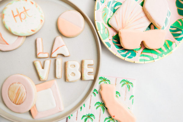 Sugar Cookies with the LA Vibe